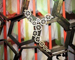 Schaufensterinstallation im BBKarium Schaufenster Halle