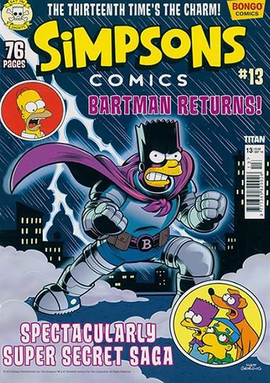 Simpsons Comics Magazine Subscription WHSmith