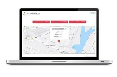 Tracker Tecnologias de geogestion Ordenador