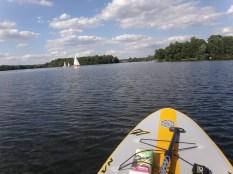Toller See zum Stand Up Paddeln