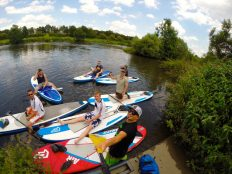 Pause muss sein! Stand Up Paddling