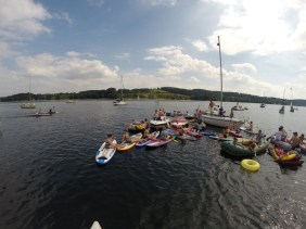Stand Up Paddling Junggesellenabschied Baldeney See