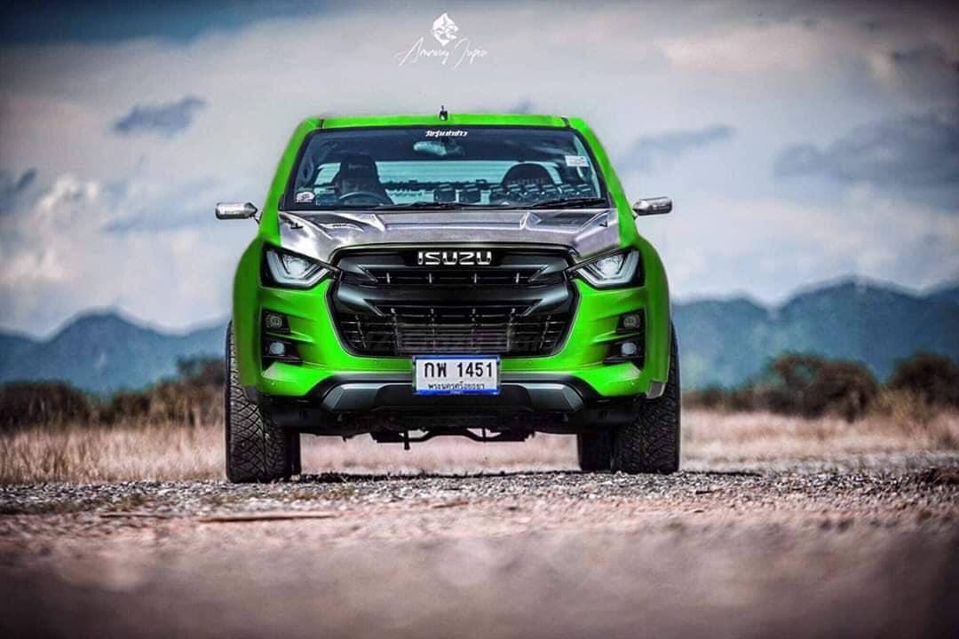 all new isuzu d max 2020 green