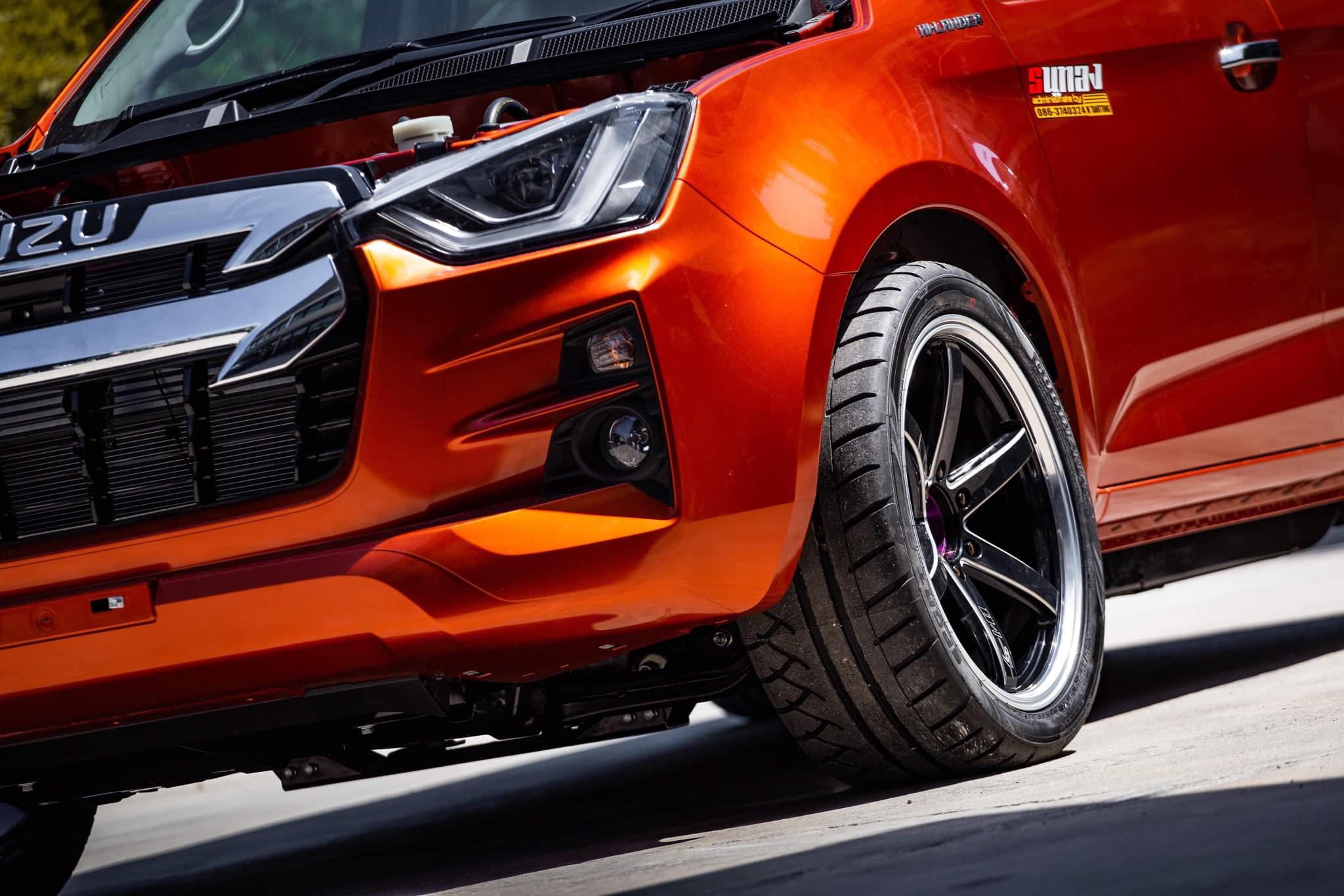 all new isuzu d max 2020 orange 02
