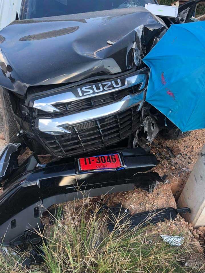 all new isuzu dmax 2020 accident 01