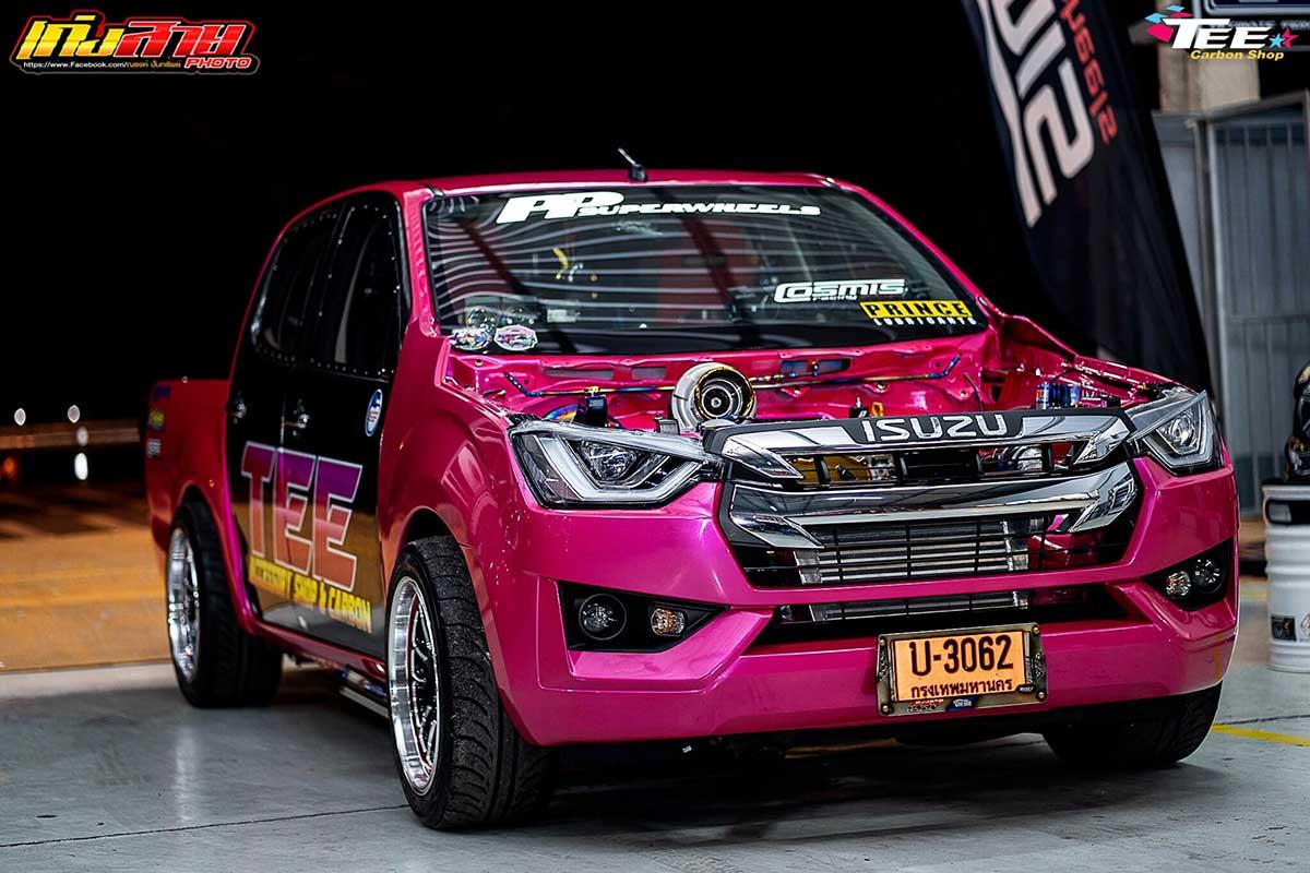 all new isuzu dmax 2020 face pink 014