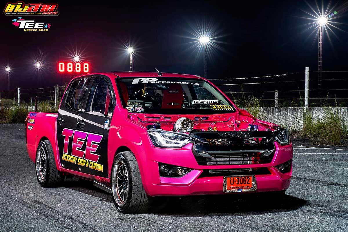 all new isuzu dmax 2020 face pink 03