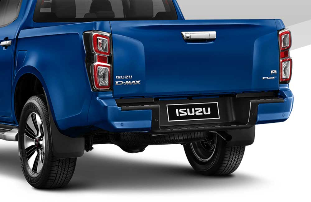 all new isuzu dmax back bumper 02