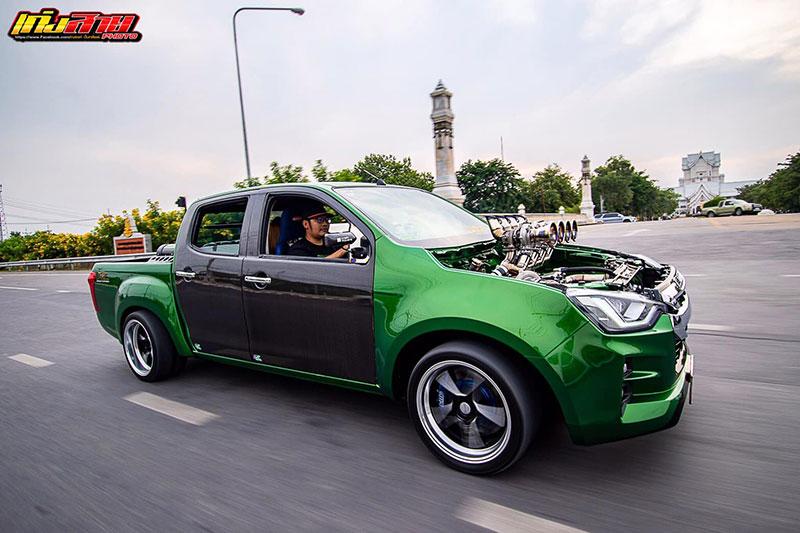 all new isuzu dmax green 010