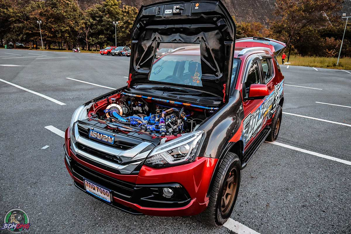 isuzu mu x full option 05