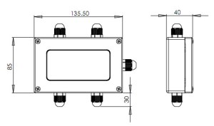 RWJT04A( ) Amplifier w build in Load Cell Summing Junction Box – ISVASIA SINGAPORE PTE LTD