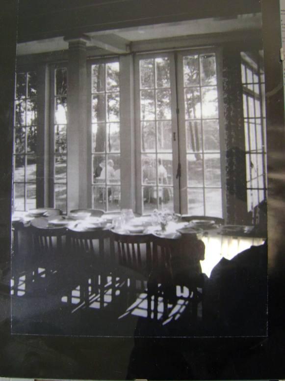 Interieur ISVW rond 1920