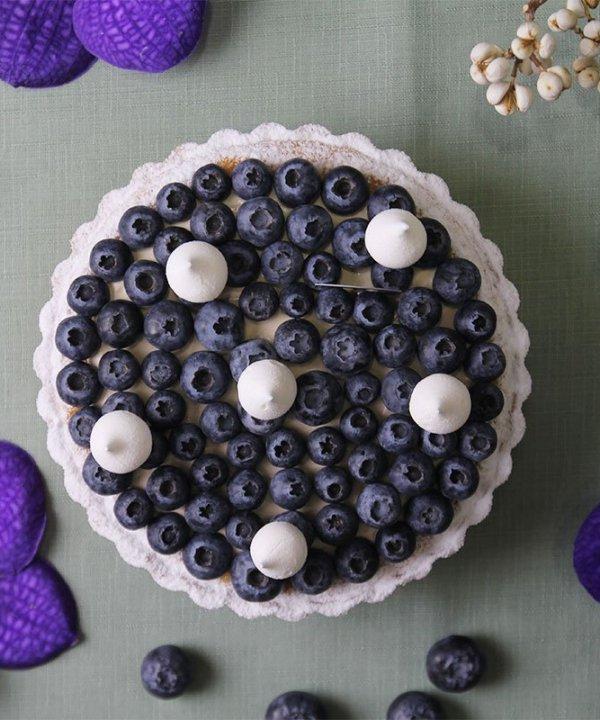 紅茶藍莓塔 - iSweets Patisserie 愛甜食