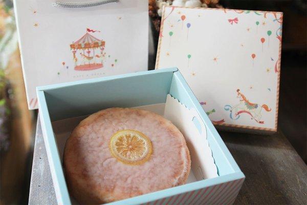 黃檸檬糖霜老奶奶 - 彌月蛋糕/彌月試吃   iSweets Patisserie 愛甜食