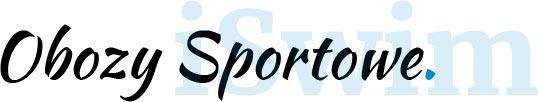 Przycisk z napisem Obozy Sportowe iSwim Białystok