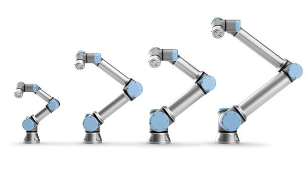 Gamme Universal robot UR3/5/10/16