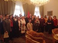 2016 márciusa, Waliduda Dániel bemutatta Iszkaszentgyörgyöt a szentpétervári Magyar Főkonzulátuson