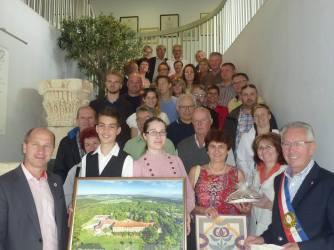 2016 júliusa, Iszkaszentgyörgy bemutatkozik francia testvértelepülésén, Craonban