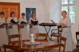 2016 júliusa, észt asszonykórus koncertje Iszkaszentgyörgy testvértelepüléséről, Köpuből