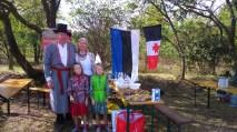2016 szeptembere, Somosma Nap, különleges vendégek az észt-udmurt Ruukel család: Aivar és Ljudmilla, valamint ikerlányaik, Luule és Lille