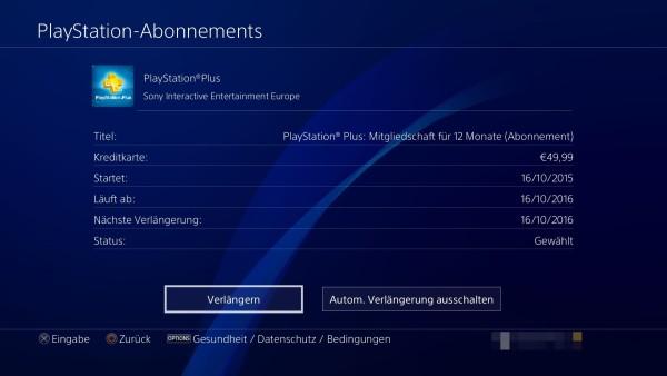 PlayStation-Plus-Abonnement