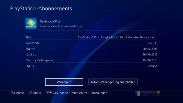 Wie Lange Läuft Mein Playstation Plus Abonnement Noch So Können Sie