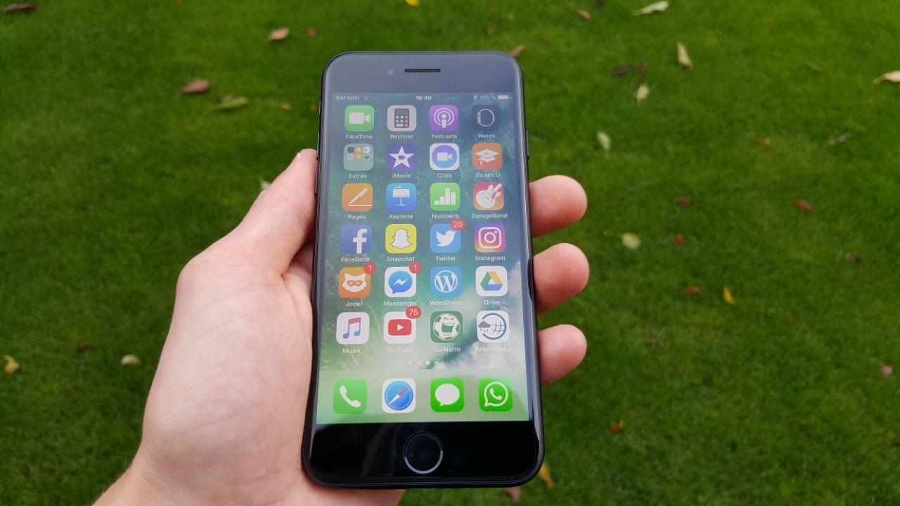 Gerade Haken für iPhone