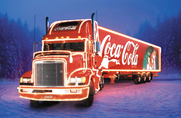Coca-Cola Weihnachtstour 2019
