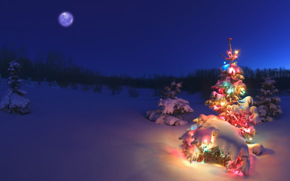 Holiday Lights theme für Windows