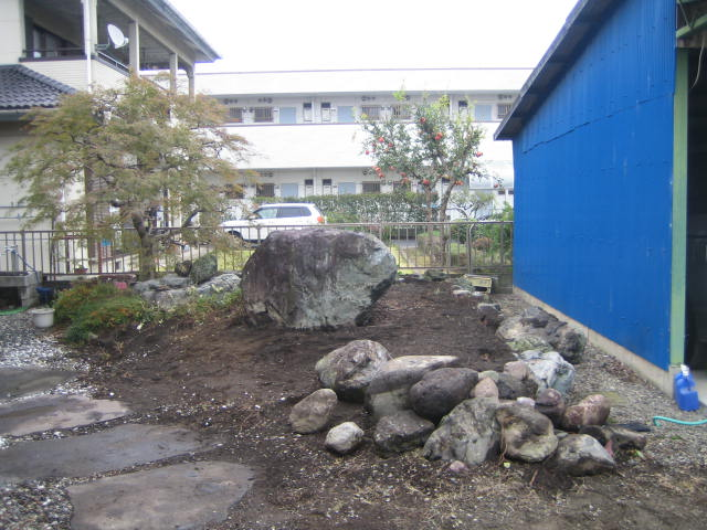 群馬 高崎 実家の庭を整備してください