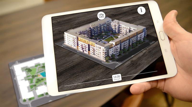 Unik app visar hur solen faller i obyggda kvarter
