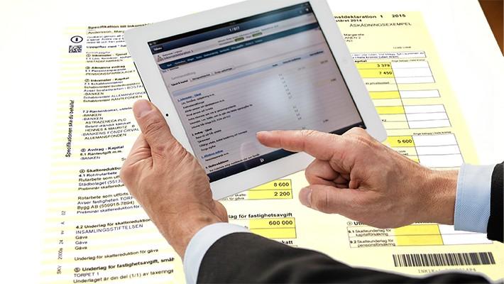 Ny tjänst förenklar för den som anlitar redovisningsbyrå för att deklarera