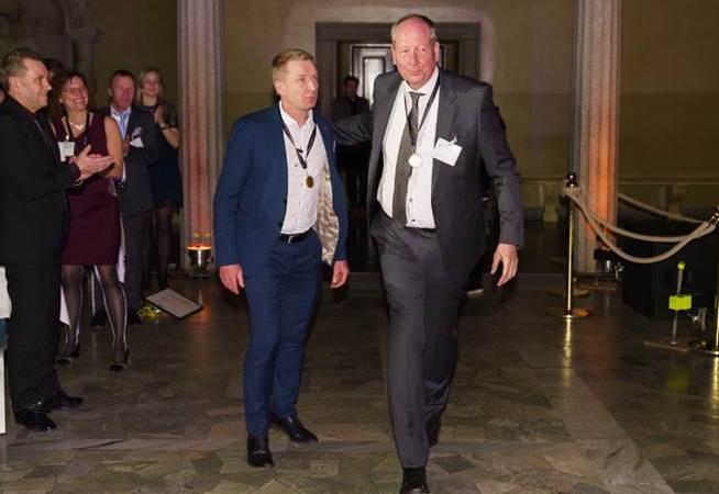 AQ Groups grundare Claes Mellgren och P-O Andersson är klara för världsfinalen i entreprenörskap