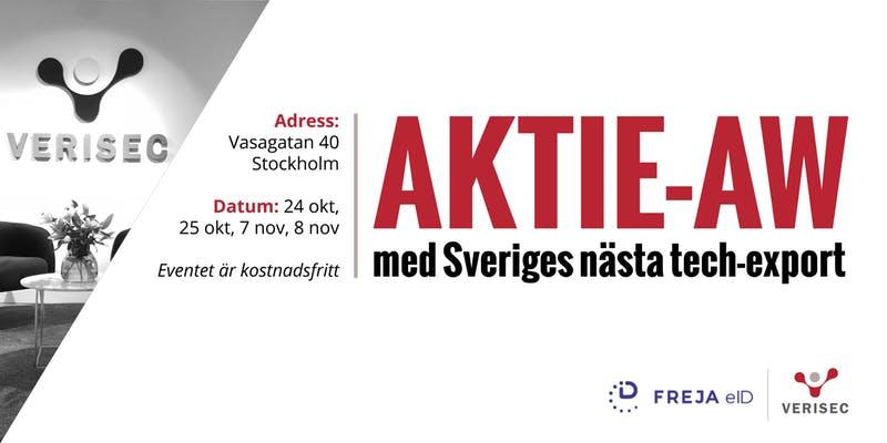 Aktie-AW med Verisec