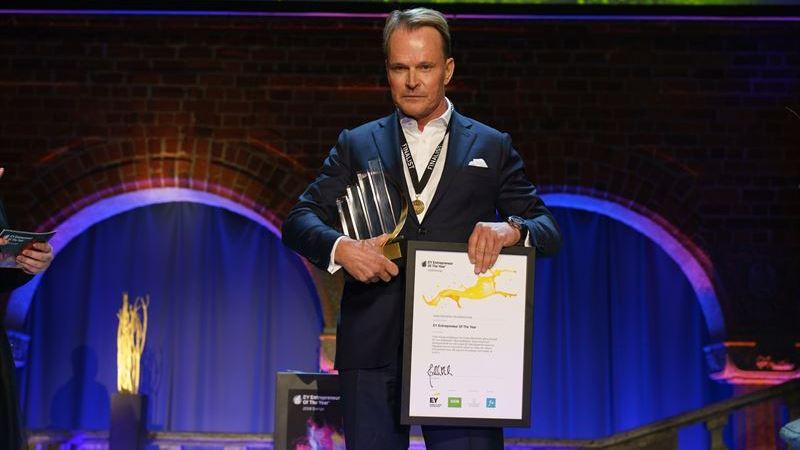 Urban Edenström kan utses till världens främsta entreprenör