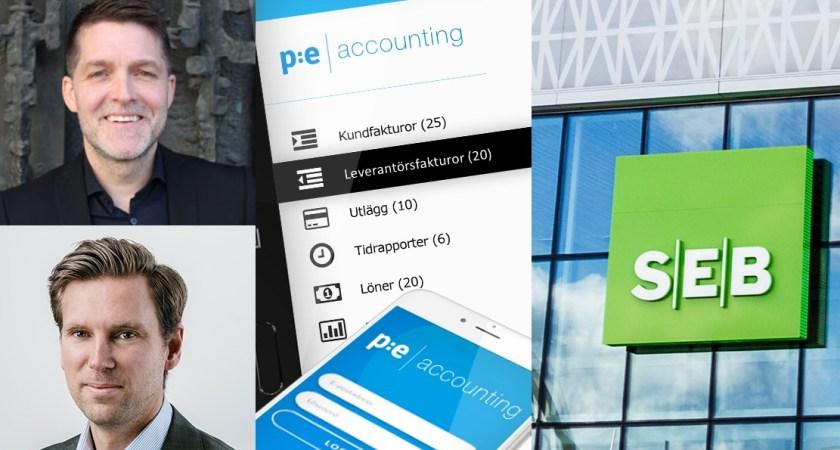 PE Accounting vill tillsammans med SEB minska stressen över cashflow