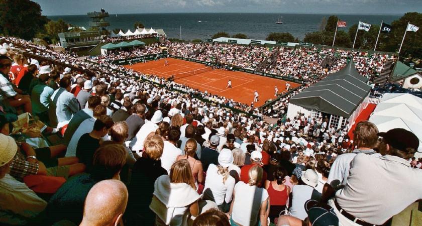Zoégas under tennisveckan i Båstad