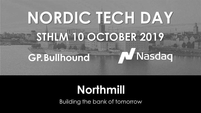 Northmill diskuterade neobanking på Nordic Tech Day