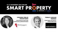 Riksbyggen & Newsec talar på Smart Property 2020 – Fokus PropTech och IoT-tillämpningar