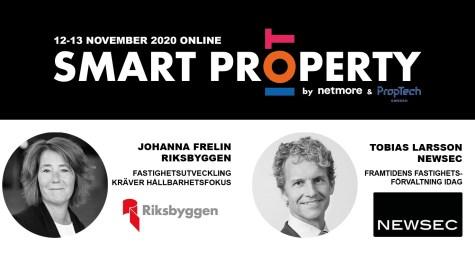 Riksbyggen & Newsec talar på Smart Property 2020 - Fokus PropTech och IoT-tillämpningar 1