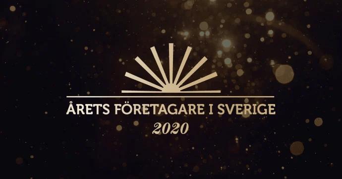 De vann andra- och tredjepris i Årets Företagare i Sverige 2020