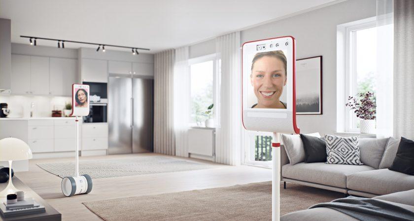 Lägenhetsvisning hemifrån med Riksbyggens nya visningsrobotar