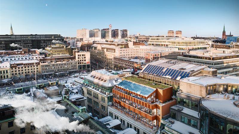 Vasakronan hyr ut helt hus i Stockholm city