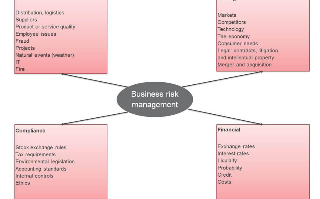 IT Governance - Figure 28: Four Types of Risks (Sadgrove 2005, 18)