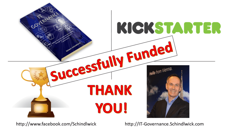 IT Governance – Book Publishing Project has been successful funded!