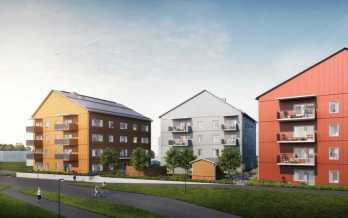 MKB Fastighets AB bygger trähus och minskar klimatpåverkan 1