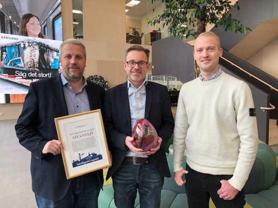 Atea får pris för Årets Logistiketablering 2019 1