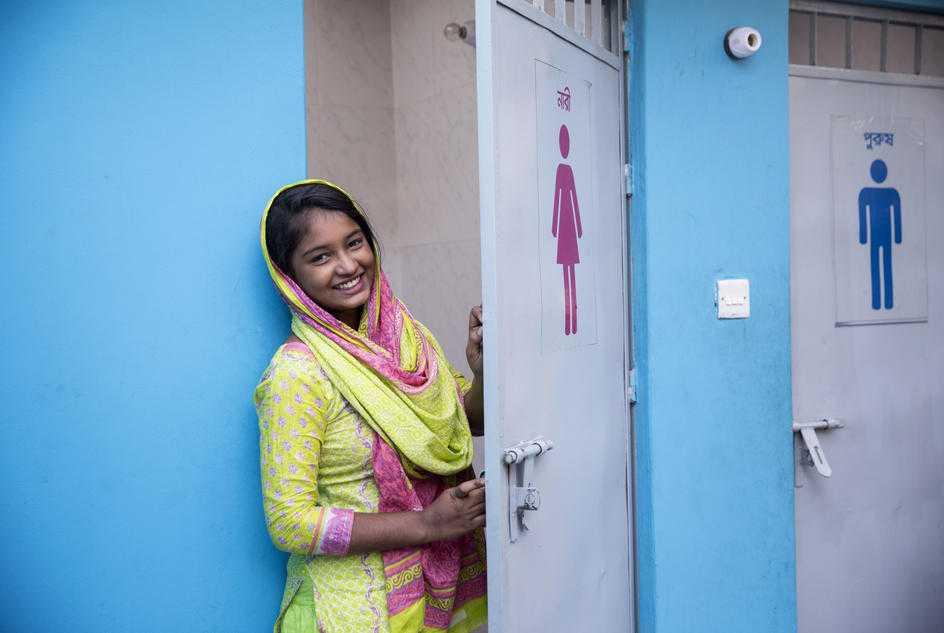 Lindex och WaterAid startar projekt i Myanmar som förbättrar livet för kvinnor inom textilindustrin 1