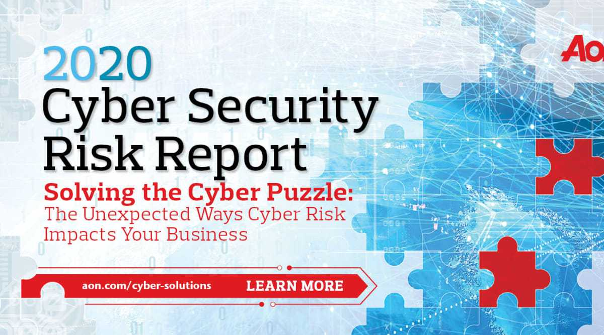 2020 Cyber Security Risk Report - Solving the Cyber Puzzle 1