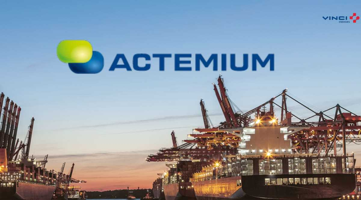 Actemium Electro minskar utsläppen i svenska hamnar 1